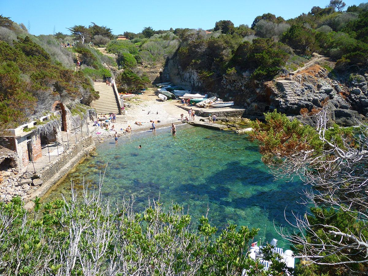 Arcipelago Toscano - 2 Porto_Romano_dell'Isola_di_Giannutri