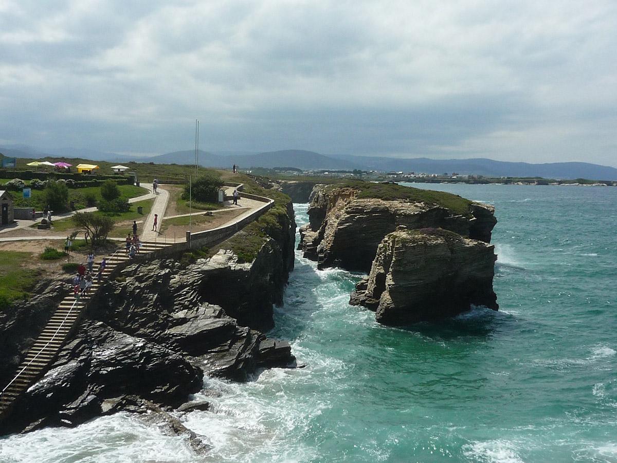santiago di compostela - 05 - Praia du catedrais